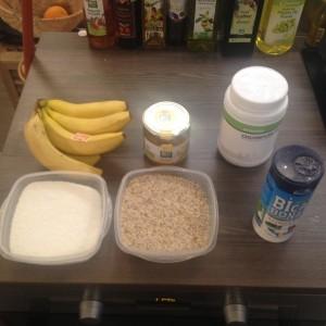 ingrédient-recette-paleo-cake-banane