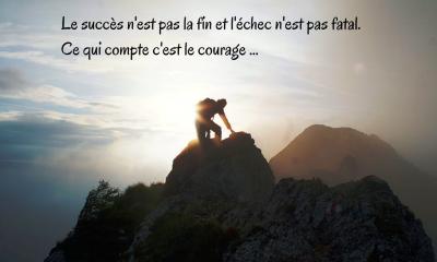 Le succès n'est pas la fin et l'échec