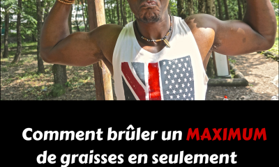Comment brûler le MAXIMUM de graisses en 30 minutes ?