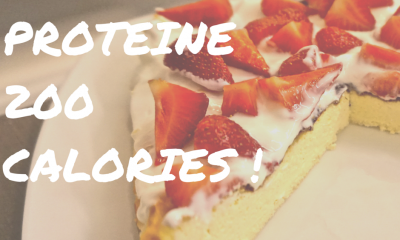 CHEESECAKEPROTEINE 200 CALORIES !